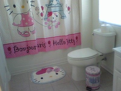 My Hello Kitty Bathroom